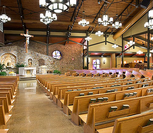 St. Louise de Marillac Sanctuary Renovations